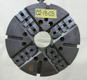 Warner Swasey 18 4 Jaw Independent Chuck A 11 Mount M 1612