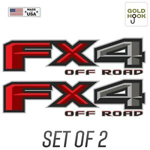 Fx4 Off Road Decal Replacement Sticker Ford F 150 Bedside Emblem F 2015 2018