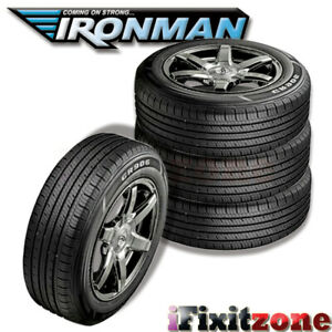 4 New Ironman Gr906 175 70r13 82t All Season M S Rated High Performance Tires