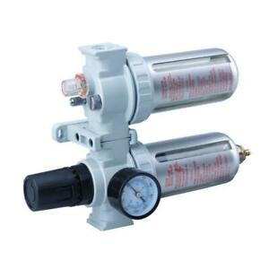 Air Control Unit Filter Regulator Lubricator Water Trap For Compressors 1 4 New