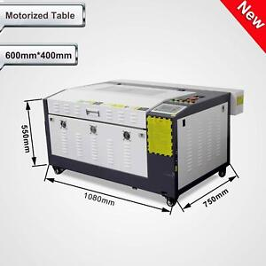 80w Co2 Laser Engraving And Cutting Machine Corellaser Motorized Table 16 x24