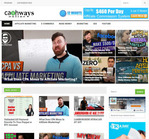 Affiliate Marketing Website Earn Money From Clickbank And Other Affiliate Webs