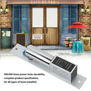12v Electronic Magnetic Lock Auto Lock Door Lock Induction For Access Control