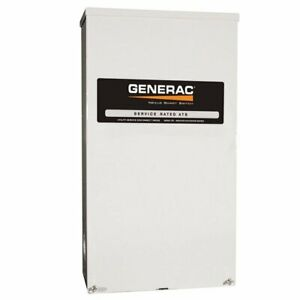 Generac Rtsn400g3 Guardian 400 amp 3 phase Automatic Transfer Switch 120 208v
