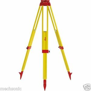 Leica Gst20 9 Wooden Tripod For Total Station Theodolite Level Laser S