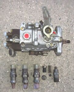 Bosch 1981 Vw Rabbit Diesel Fuel Inj Pump 3 Injectors Extra Parts And Visor