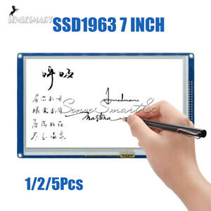 1 2 5pcs 7 Inch 800x480 Tft Lcd Touch Module Ssd1963 Pwm Fit For Arduino Avr Arm