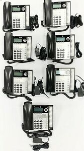 At t 1080 4 Line Office Business Intercom Paging Call Transfer Phone 1040 1080