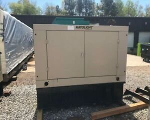 2013 Katolight 60 Kw Diesel Generator 496 Hours Enclosed With Tank