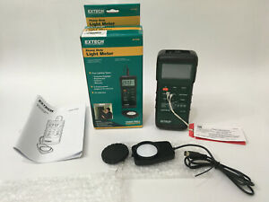 Extech 407026 Heavy Duty Light Meter 5000 Fc 50 000 Lux For Parts