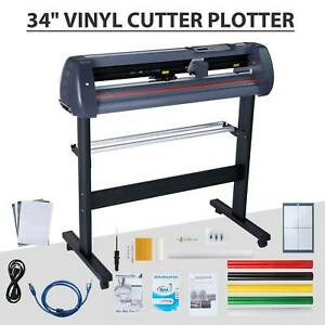 34 Vinyl Cutter Plotter Sign Cutting Machine Automatic Art Design Make Stickers
