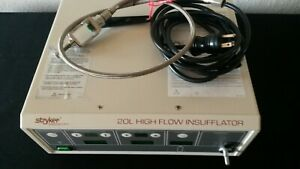Stryker Endoscopy 20 L High Flow Insufflator 620 030 400 F20