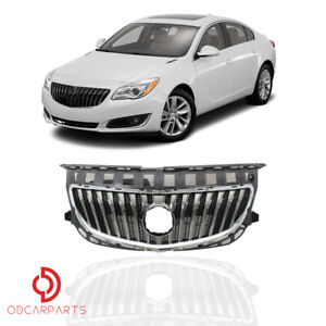 Fits 2014 2015 2016 2017 Buick Regal Front Upper Grille Grill Chrome