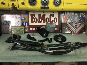 1957 Ford Restored Power Steering Set up complete As Shown