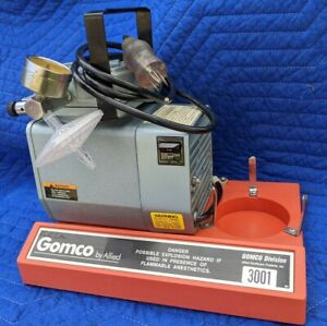 Allied Healthcare Gomco 300 Aspirator vacuum Pump Table Top Suction Pump