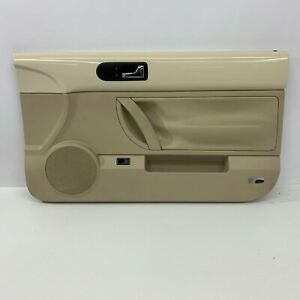 2003 2010 Vw Oem Volkswagen Beetle Tan Beige Door Panel Front Convertible S5338