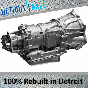 Rebuilt Transmission 6l80 6 speed For Sierra Silverado Escalade Tahoe Yukon 4wd