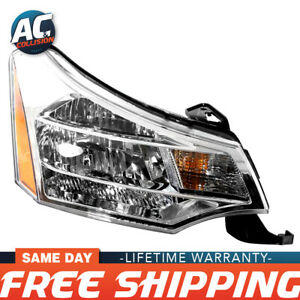 Fo2503244 Headlight Assembly Right Side For 2008 2011 Ford Focus Rh