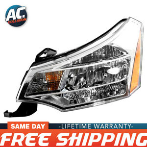 Fo2502244 Headlight Assembly Left Side For 2008 2011 Ford Focus Lh