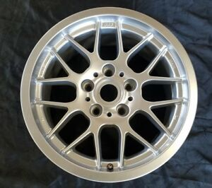 16 Bbs Wheels For Mercedes 5 On 112mm Silver Used