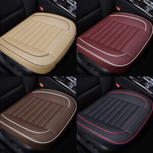 Pu Leather Breathable Front Rear Car Seat Cover Chair Cushion Pad Mat Protector