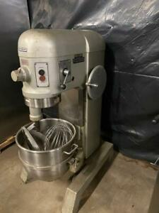 Hobart H 600 60 Qt Mixer W Stainless Steel Bowl 3 Attachments
