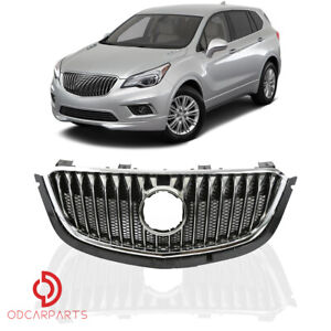 Fits 2016 2017 2018 Buick Envision Front Upper Grille Grill Chrome