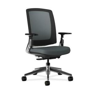 Hon Lota Mesh Back Office Chair In Charcoal h2283