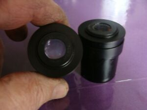 Nikon Microscope 15x 14 Pair Eyepiece Nice Condition