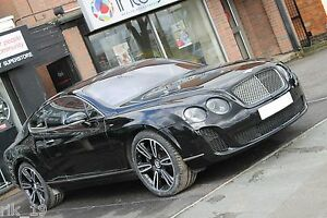 Bentley Continental Gt gtc Super Sport Style Body Kit 2004 2011