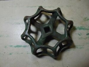 Vintage Metal Cast Iron Water Gas Valve Handle Reclaimed Local Salvage