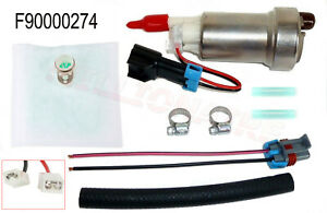 For Walbro F90000274 In Tank E85 Fuel Pump W 0085 Installation Kit 450lph Racing