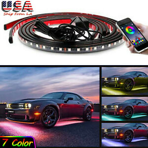 Rgb Led Car Neon Light Chassis Atmosphere Lamp For Dodge Challenger Charger