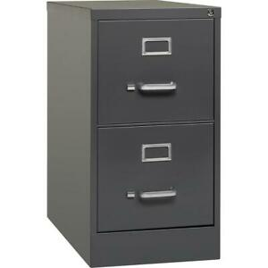 Lorell 26 1 2 Vertical File Cabinet 15 X 26 5 X 28 4 2 X Drawer s