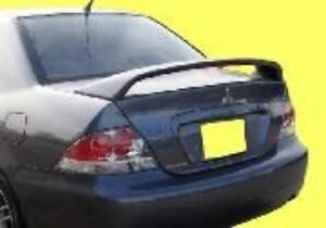 New Painted For Mitsubishi Lancer Ralliart 2004 2005 2006 2007 Spoiler Wing