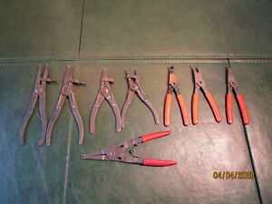 Lot Of Misc Automotive Usa Snap Ring Pliers