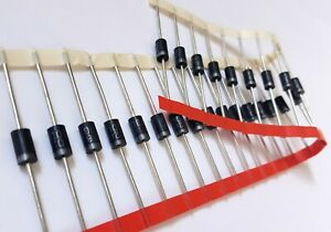 25 Lot Sf30dg 200v 3a Rectifier Diode Ultra Fast 35ns Trr Do 201ad Usa Ship
