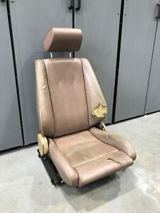 Bmw E28 E24 Llama Sport Seat Drivers Side Works Perfect M5 535is 535i Seat