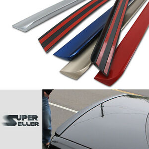 Fit For Acura Rsx Rear Trunk Spoiler Lip Boot Coupe 05 04 Painted
