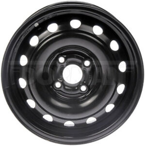Wheel For 1993 2002 Toyota Corolla 14 X 5 5 In Steel Rim 4 Lug Black 14 hole
