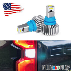 Super White 921 Csp Led Backup Lights Bulbs For Chevy Silverado 1500 2500 3500