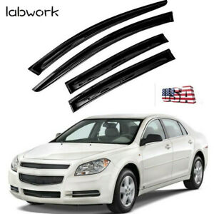 For 2011 2012 2013 2014 2015 Chevy Cruze Acrylic Window Visors 4pc