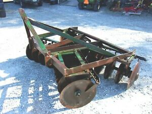Used Harris 6 Ft 3 Pt Lift Disc Harrow free 1000 Mile Delivery From Ky