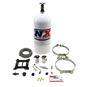 Nitrous Express Mainline Carb System Kit With 10lb Bottle Ml1000