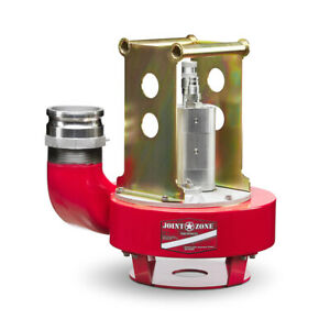 Joint Zone Jz 40tp 4 Submersible Hydraulic Trash Pump W Couplers