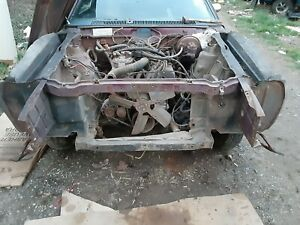 71 72 73 74 Amc Amx Javelin Upper Radiator Core Support And Ears 68 69 70