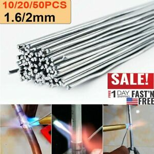 Super Melt Flux Cored Aluminum Easy Solution Welding Rods 1 6 2mmx50cm 10 50pcs