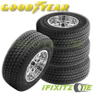 4 Goodyear Wrangler At S P265 70r17 113s All Terrain All Season Truck Tires