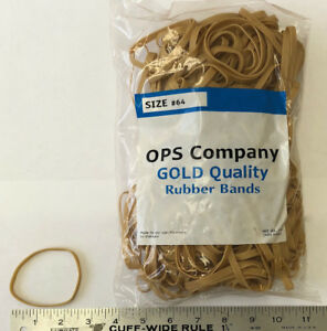 64 Rubber Bands Of 5lbs Size 3 5 Home Made Face Mask Thickness 1 4 X 1 16