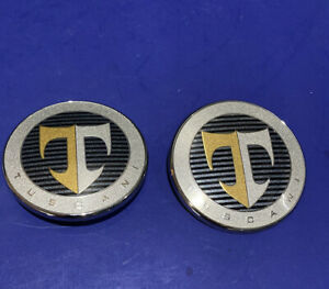 03 04 05 06 07 08 Hyundai Tiburon Tuscani Front Rear Emblem Logo Badge Sign 2822